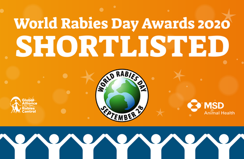 World Rabies Day awards 2020 shortlist