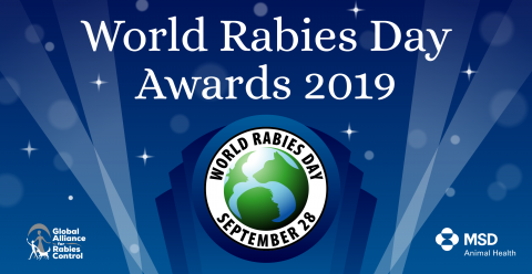 World Rabies Day Awards logo