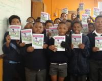 Primary school children in the Langeberg area of the Western Cape. Photo: Mercia Williams.