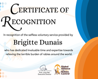 Special thank you to Dr Brigitte Dunais
