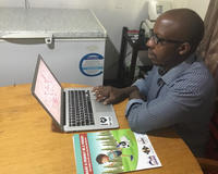 Mr Lambert Gwenhure uses the Rabies Case Surveillance (RCS) component of the Rabies Epidemiological Bulletin (REB) to analyze the rabies situation in Zimbabwe.