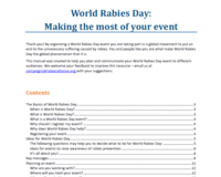 WRD Event organiser's toolkit