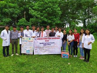 IVSA Rampur student group, a shortlisted nominee for the GARC World Rabies Day awards 2020.