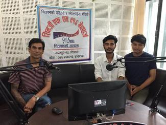 IVSA Rampur student group, GARC World Rabies Day awards nominee activities 2020, including mass media awareness.