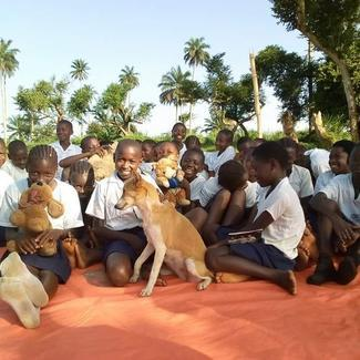 Liberia Animal Welfare & Conservation Society, GARC World Rabies Day awards nominee activities 2020, including children's education and community awareness