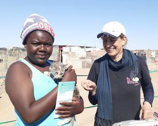 Have-A-Heart Namibia, GARC World Rabies Day awards nominee activities 2020, including vaccination.