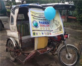World Rabies Celebration Barangay Magsaysay Norte, Cabanatuan City, Nueva Ecija.. MOTORCADE, MASS VACCINATION & INFO DRIVE