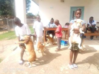 Children were the main people who brought their pets for vaccination