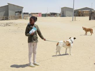 Have-a-Heart Namibia 2020 vaccination drive within Swakopmund's township