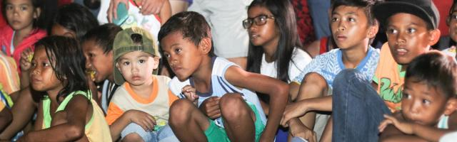 children learning in Sorsogon