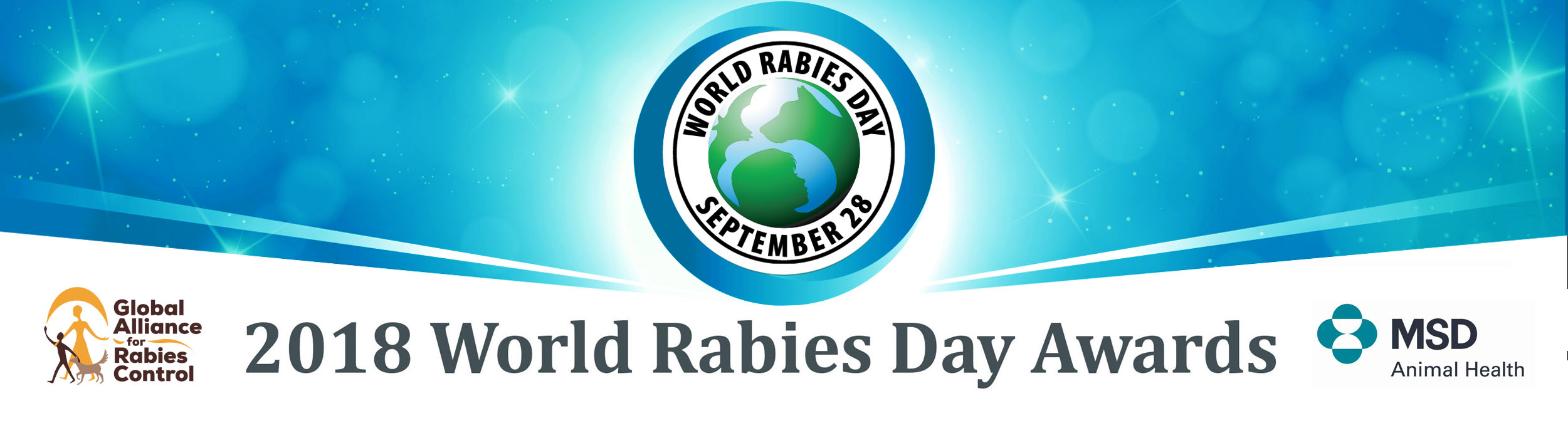 2018 World Rabies Day Awards banner