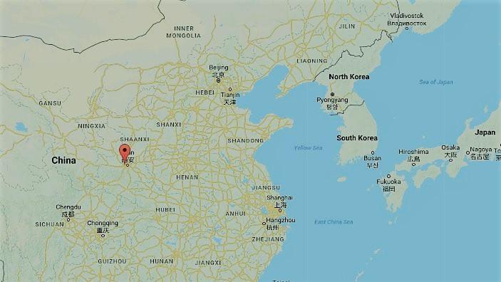 La vacuna no pudo salvar a la mujer china vctima de rabia lo que ciudad de xian en la provincia de shaanxi china google maps gumiabroncs Images